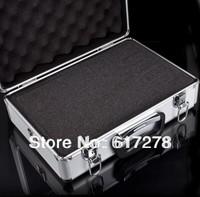New arrival! Transmitter aluminium box equipment box remote control alu case for JR FUTABA WFLY KDS ESKY Walkera Flysky