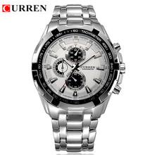 CURREN Brand Men's Watches Fashion&Casual Full Steel Sports Watches Relogio Masculino Men's Business Japan Quartz Wristwatch(China (Mainland))