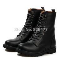 Korean Winter boots men plus size shoes woman fur Couples martin boots female fashion Women men's boots real leather boots