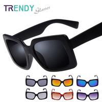 2014 Sunglasses Women Vogue Oculos Femininos Square Frame Color Coating Lenses V28