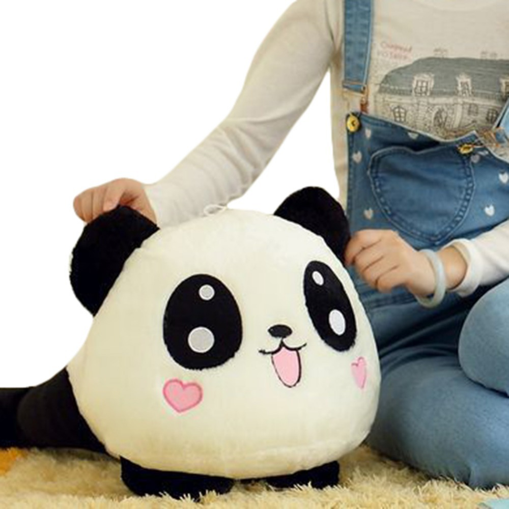 Unisex Stuffed Plush Doll Toy Animal Giant Panda Pillow Bolster Gift 70CM Free Shipping S5V(China (Mainland))