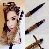 Mistine 3d three-dimensional eyebrow pencil eyebrow dye shaping cream perfect