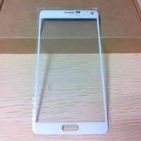 Replacement Outer Front Screen Glass Panel Lens For Samsung Galaxy NOTE 4 White , Free ship