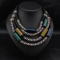 Wholesale Winter Brand Jewelry Fashion Design Women Collar Necklace Vintage Costume Collars Statement Necklace