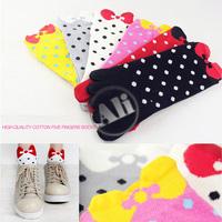NEW Antibacterial Women Breathable Short Tube Cotton Five Toe Socks Leisure socks 1Pair Free Shipping
