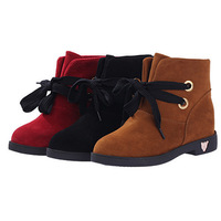 2014 spring autumn Women Boots Fashion Style Solid Warm Ankle Boots Woman Shoes for girls 20252
