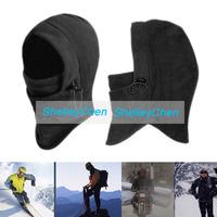 Outdoor skiing men's cold warm fleece neck protecting riding mask headgear CS fleece hats Windproof Hat Tactics Cap