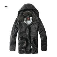 free shipping rabbit fur collar hooded mid long close fitting woman black down coat jacket peutereys