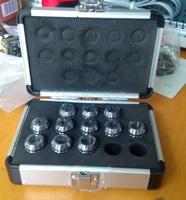 high precision  ER20 2~13mm  DIN6499B  collet 12pcs with AL. box tools collets T201410193#
