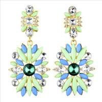 New 2014 European and American fashion elegant diamond earrings  B493