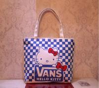 Women Canvas Shopping Handbag Tote Beach Bag Hobo Lunch Little Bag Canvas Bag Tote Bag 6pcs/lot Mixed Sale