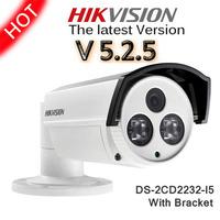 In Stock 100% Hot Sale Economic Hikvision DS-2CD2232-I5 HD POE 3Megapixel EXIR Bullet Network ONVIF Web IP Camera with Bracket