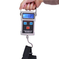 4 in 1 Multifunction Portable Digital Scale 20g-50kg Luggage Scale with Fishhook