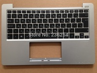 Free Shipping! New keyboard for ASUS X201 X201E S200 S200E x202e with Siver C CASE GK keyboard