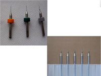 10pcs Nozzle Cleaning 0.5mm/0.4mm/0.3mm/0.2mm Drill Bits for 3D Printer Nozzle Cleaning Makerbot Mendel Reprap