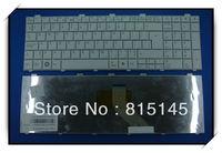 Free Shipping! The OEM Laptop Keyboard for Fujitsu Lifebook A530 AH530 AH531 NH751  White CP487052-02 keyboard Canada-French