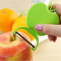New Portable Folding Apple Shape Type Melon and Fruit Peeler Blade Kitchen Tools #63296