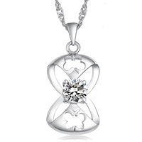 Fashion brand Luxury necklace 925 necklace & pendant free shipping jewelry for women  YFDX001