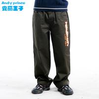2014 autumn 100% cotton boy 100% cotton casual pants trousers clothing