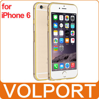 Volport Original Newest Deluxe Luxury 0.7mm Ultra thin Aviation Aluminum Metal Frame Case Bumper for iPhone 6 4.7""