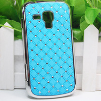 For Samsung Galaxy Duos S7562 Trend S7560 Bling Rhinestone Diamond Back phone case cover phone accessories