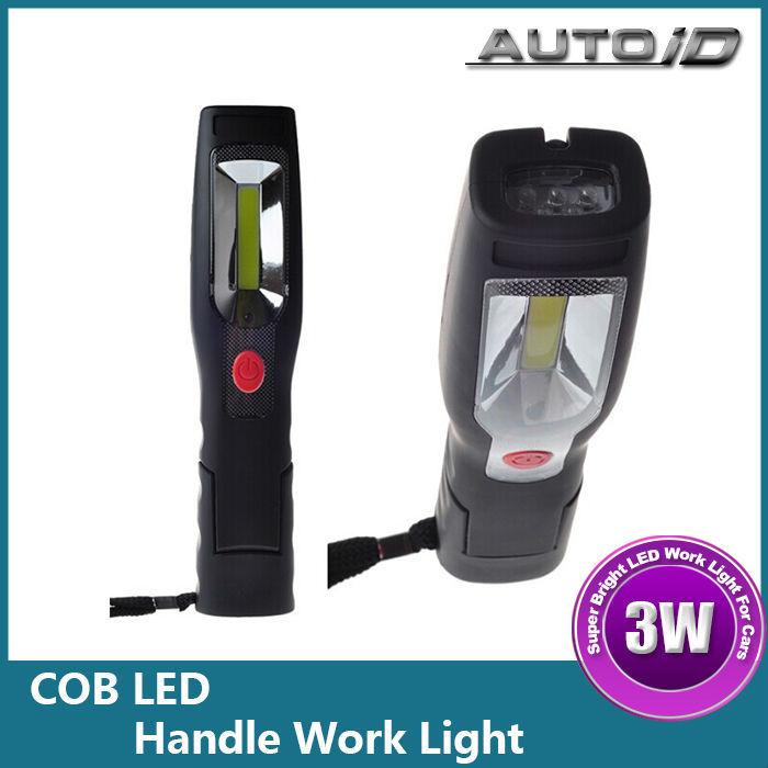 Rechargeable 12v Led Car Spotlight Work Light 12v Cob Car Led