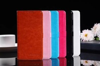 Huawei Honor 3X case,Torras Brand Hit color series flip leather back cover case for Huawei Honor 3X (G750)