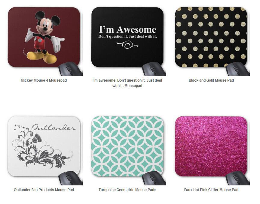 Many Design elegant tan trellis teal monogram Pattern Mousepad Gamer Gaming ,Computer Laptop Mouse Pad tapis de souris With Gift(China (Mainland))