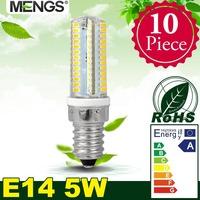 MENGS 10Pcs per pack E14 5W LED Corn Light 104x 3014 SMD LEDs LED Lamp In Warm/Cool White Energy-saving Lamp