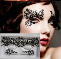 wholesale Fashion paper cutting eyelashes stickers eyeliner royal luxury paper-cut False Eyelashes