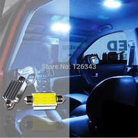 5W High Power COB Led Light Car Auto Interior Reading Lamp White  Dome Popular Free Shipping 2pc/lot