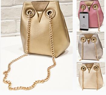 Горячих женщин сумка 2014 мода сова женщины сумка почтальона сумочки сумки цепь небольших сумки новый свободного покроя мешок