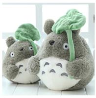 Girl Friend Children Birthday Gift 20CM Miyazaki Cute Totoro Plush Stuffed Animal Toy Doll Free Shipping SRWJ5005