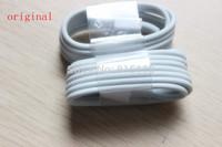 100% Genuine USB Data Sync Charger Cable Lead For Apple iPad 4 ipad mini iPhone6 5 5s 1:1 Original Cable IOS 8.0 Free shipping