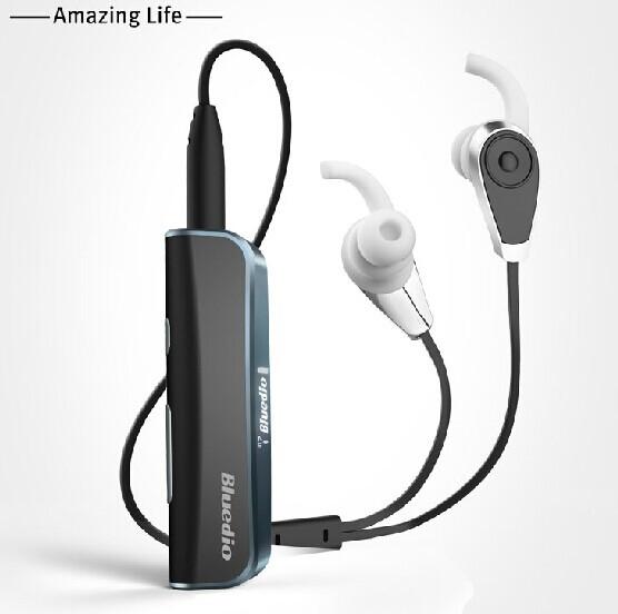 New Original Bluedio i6 Wireless Bluetooth 4.1 Headset Earphone Stereo Music Bluetooth Sport headphone with Display High quality(China (Mainland))