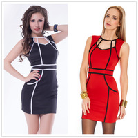 R7787 Hot Free shipping new style women summer dress with ohyeah brand high quality  fashion women clothes 2014  dress women