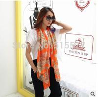 Leopard print scarf shawls long scarves