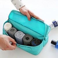 Waterproof Nylon  Travel Socks And Underwear Organizer
