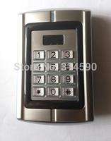 High quality Metal standalone Rfid access control machine / Keypad Rfid access control