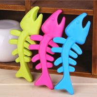 TPR Rubber Pet Toys, Dog Toys, Toys, Bite-resistant Fish Bones Toys Molar Tooth Care 3pcs/lot