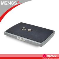 MENGS TH-650DV Camera Quick Release Plate 1/4 inch Screw for Video Camera DSLR