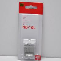 NB-10L digital Li-ion batteries NB10L Rechargeable 10L Camera Battery for Canon G1X G15 SX40HS SX50HS SX40 SX50