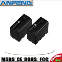 NP-F970 NP F970 NP-F960 NP-F950 6600mAh 7.4V Li-ion Camera Battery For Sony CCD-RV100 CCD-TRV58 DCR-TRV110K