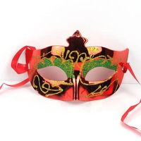 Colorful Glistening Women Half-face Party Mask Fashion Beauty Masquerade Mask Holiday Performance COSPLAY Princess Mask