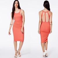 New 2014 Ladies Dress Sexy Bodycon Backless Dresses for Women Evening Dress Party Dress Vestido De Festa