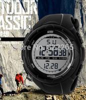 SKMEI 1025 Brand Men's Military Watch 5ATM Waterproof Digital Smart Dive Swim Watch Function Display LED Relogio Sport Watch