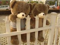 Talking Teddy Bear Plush toys  size100cm / teddy bear 1m/big embrace bear doll /lovers/christmas gifts birthday gift