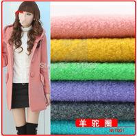 Free shipping 2014 new Woolen fabrics winter Clothing fabric Alpaca woolen cloth fabric 100 *150cm
