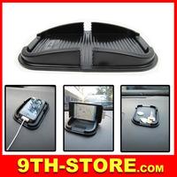 70073 Multifunctional Rubber Anti-slip Mat Car Dashboard Non-slip Mat Magic Sticky Pad for iPhone PDA MP3/4 Black