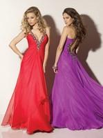 2014 custom made evening dress prom dress with multi color